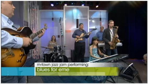 M-Town Jazz at the 10! Show July, 2012